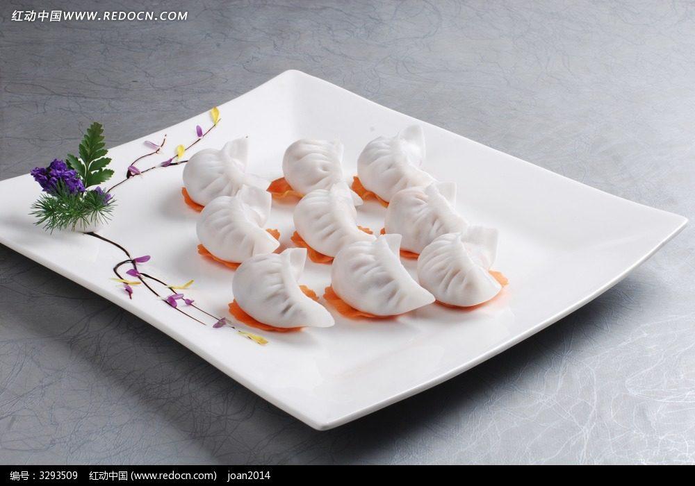 冰花水饺海报素材