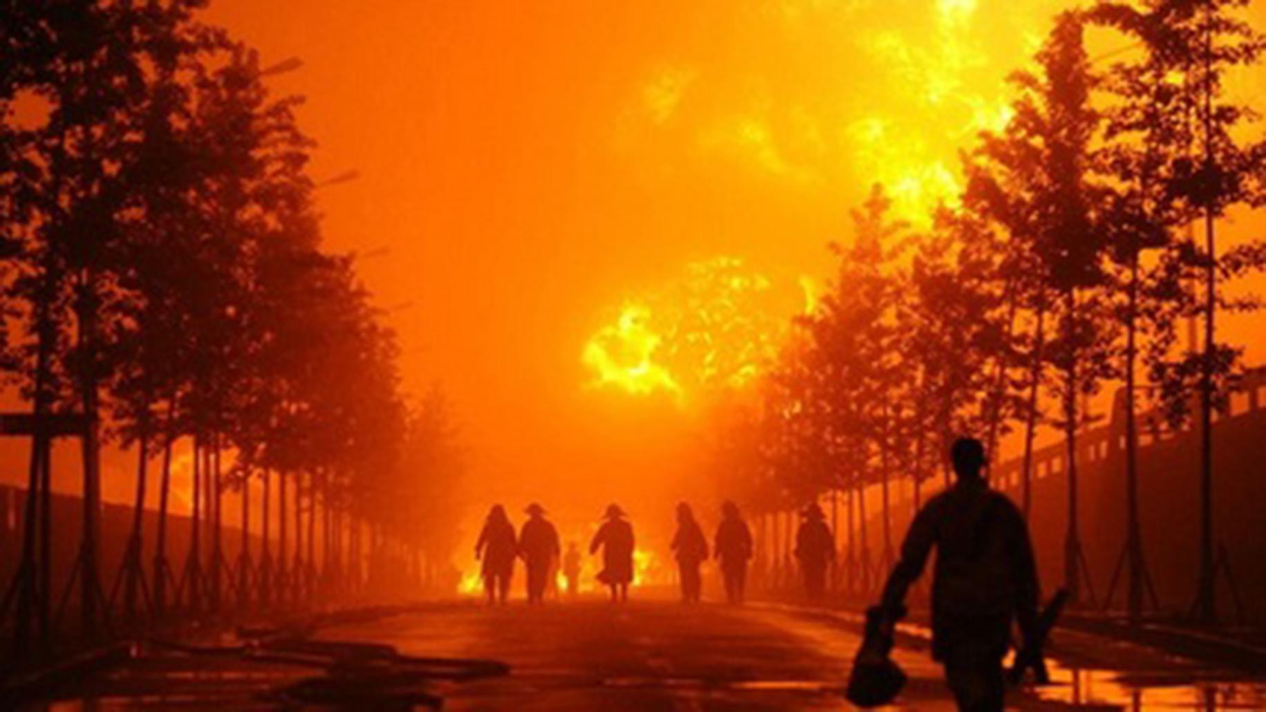 背景 壁纸 风景 火灾 天空 桌面 1831_1030