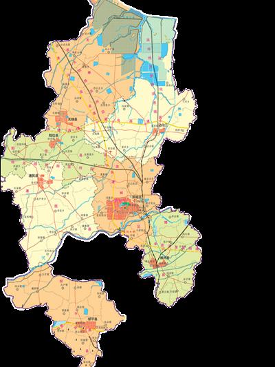 滨州北海新区旅游地图