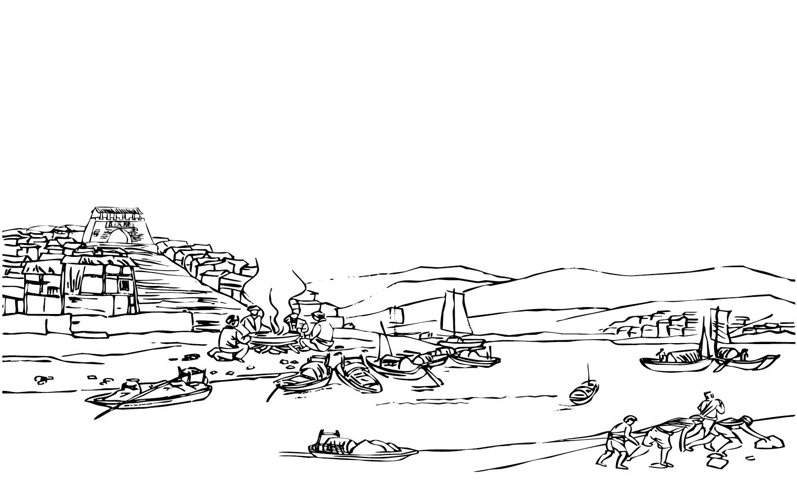 简笔画 手绘 线稿 1616_994