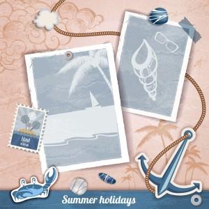 夏日海边度假相册