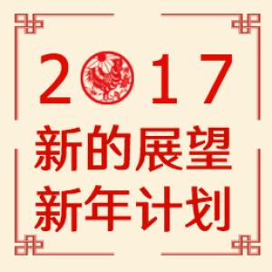2017,新的展望,新年计划