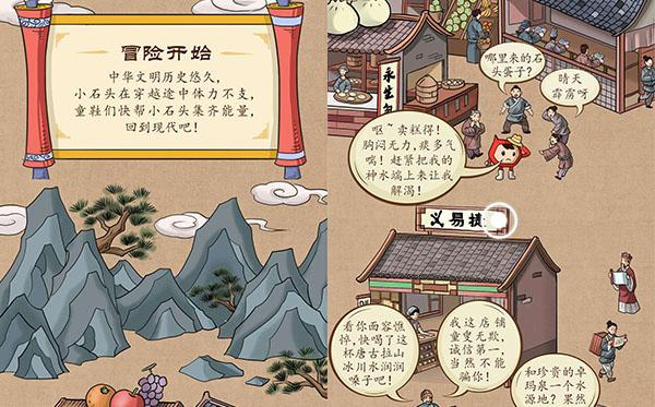 中国石化:小石头穿越记