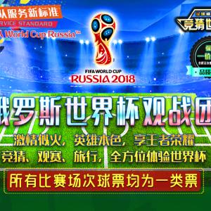 《2018俄罗斯世界杯观赛团电子手册》